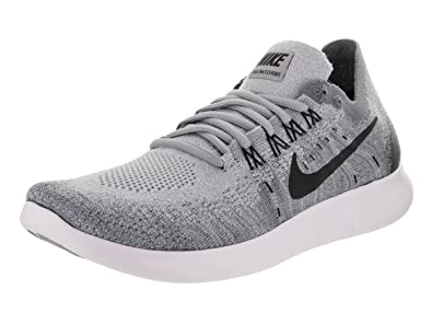 nike free flyknit wolf grey black & white kitchens