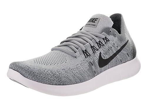Nike Wmns Free RN Flyknit 2017, Scarpe da Trail Running Donna, Nero (Black/Anthracite 013), 43 EU