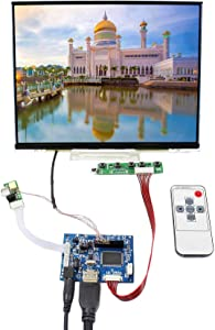 """VSDISPLAY 10.4"""" IPS LCD Screen 10.4 inch 1024X768 Display LTD104EDZS with HDMI Controller Board VS-TY2660H-V1 (for DIY Monitor)"""