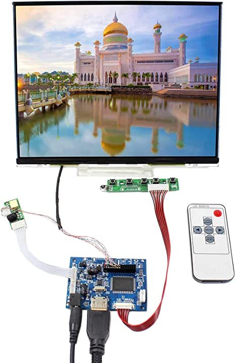 "10.4/"" LTD104EDZS 1024x768 WLED Backlight LCD Screen With VGA LCD Driver Board"