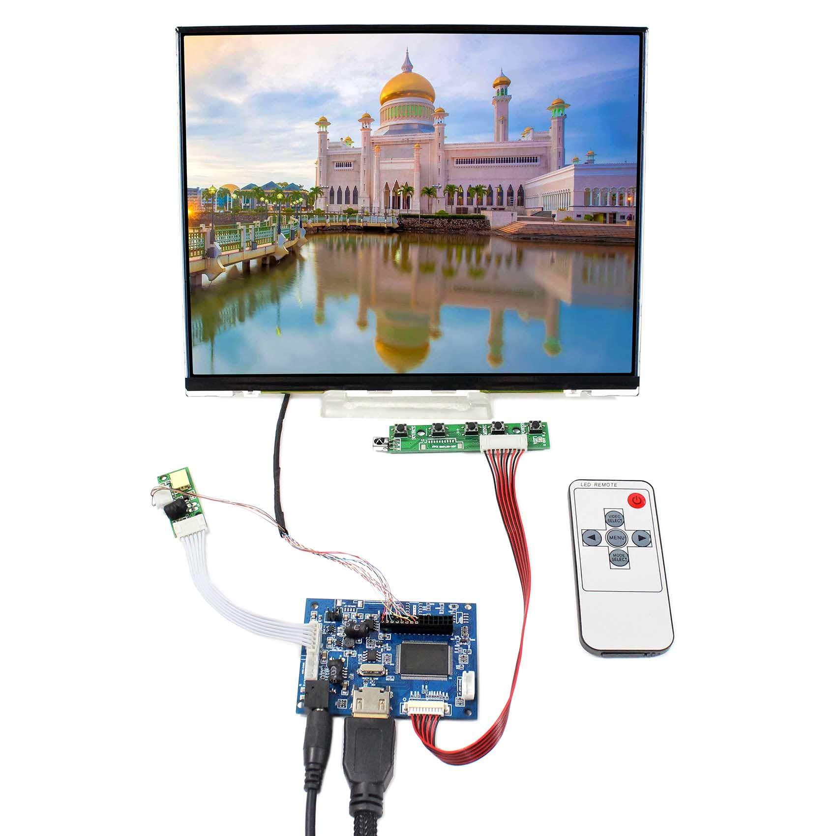 Controladora LCD HDMI VGA 10.4 1024x768 LTD104EDZS