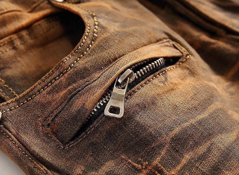 Men Jeans Male Streetwear Hip Hop Stretch Jeans Hombre Slim Fit Pants Ximandi Skinny Jeans