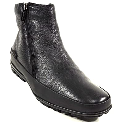 6c346c81b Amazon.com | BALDININI Men's Black Leather Winter Boots | Boots
