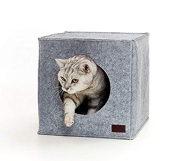PiuPet Cama de Gato by Incl. cojín | Casa de Gato Adecuada para IKEA®