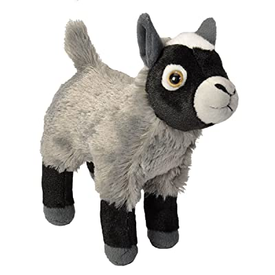 Wild Republic Goat Plush, Stuffed Animal, Plush Toy, Gifts for Kids, Cuddlekins 8 Inches: Toys & Games