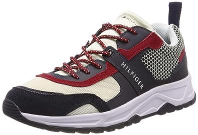 d36a394c Amazon.com | Tommy Hilfiger Men's Material Mix Lightweight Trainers ...