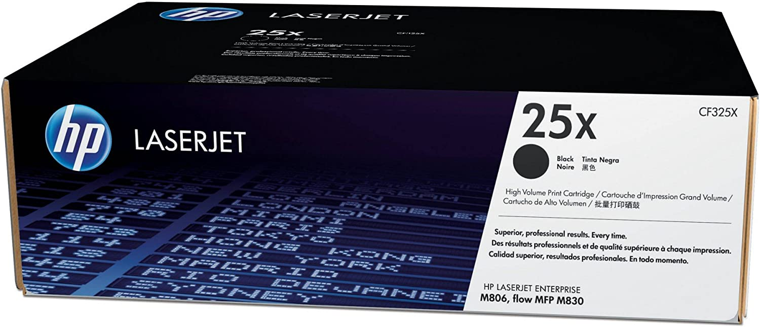 HP 25X | CF325X | Toner Cartridge | Black | High Yield