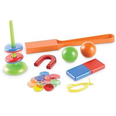 Learning Resources STEM Explorers, Homeschool, Magnet Movers, 39 Pieces, STEM Certified, Ages 5+: Toys & Games