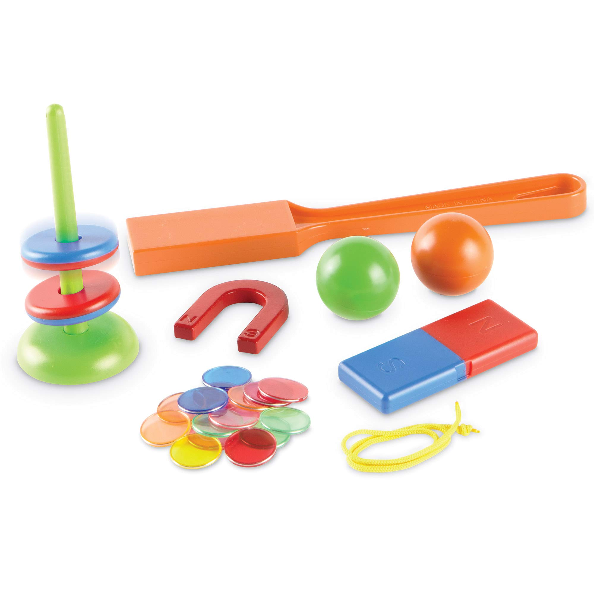 Learning Resources STEM Explorers, Homeschool, Magnet Movers, 39 Pieces, STEM Certified, Ages 5+