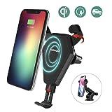 Schnelles wireless charger Auto Wofalo drahtlos ladegerät ,QI drahtlos Schnellladestation, für iPhone 8/ 8 Plus/ iPhone X, Samsung Galaxy Note8/S8/S8Plus/S7/S7Edge/S6Edge Plus/Note5 Alles Qi