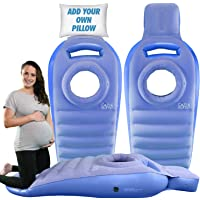 Cozy Bump Add Your Personal Pillow for Your Comfort – The Best Pregnancy Pillow for Sleeping Prone, Pregnancy Body Pillow, Maternity Pillow, Pregnancy Bed, Pregnancy Gifts, Prone Pillow