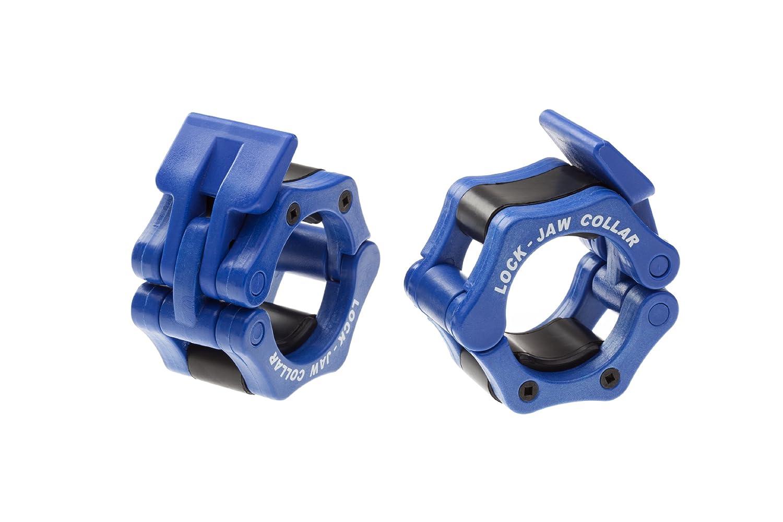 Enganches para discos y cierres olímpicos 5,08 cm azul crossfit para levantamiento de pesas de gimnasio