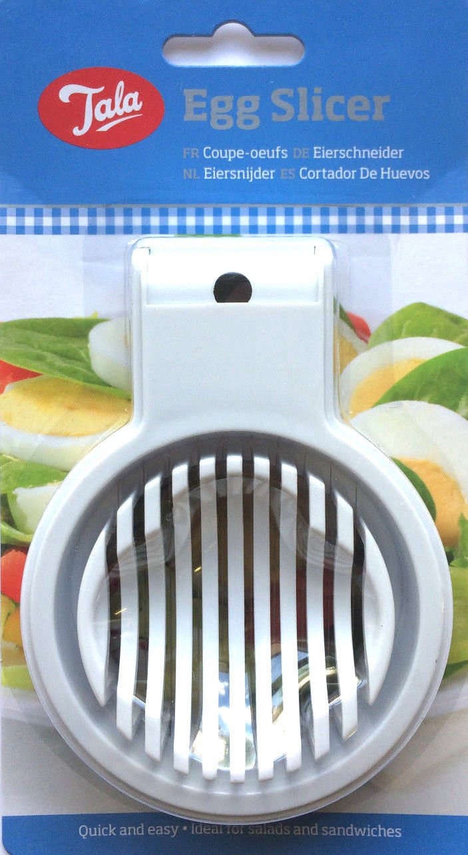 Egg Slicer Cutter Boiled eggs Mushroom Salad Lunch Kitchen Utensil White St@llion