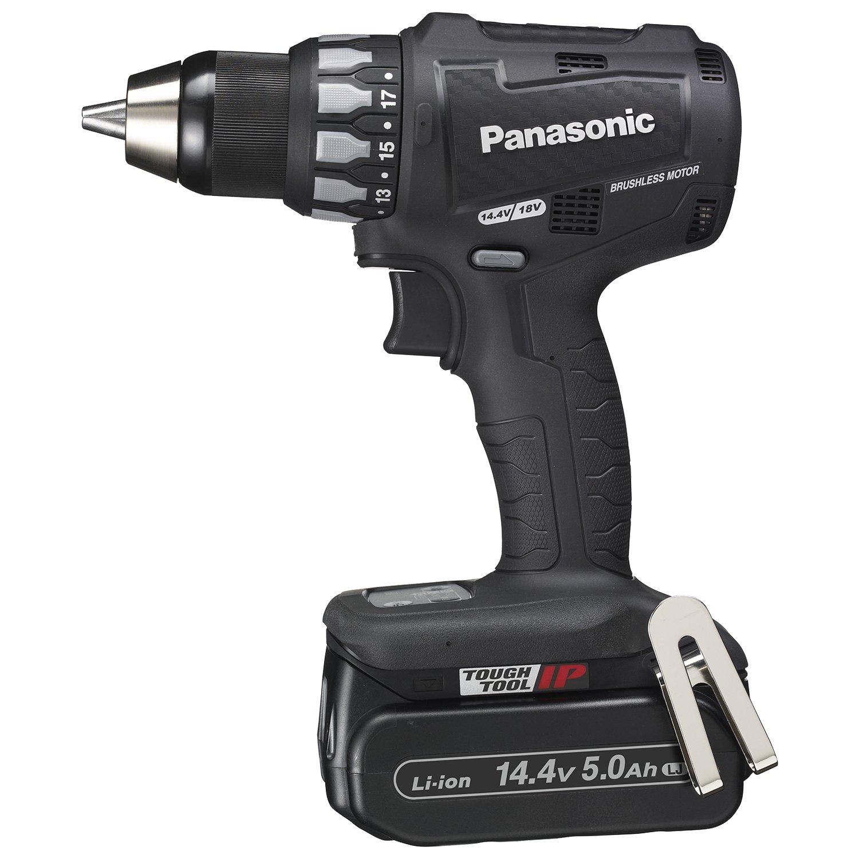 パナソニック(Panasonic) 充電ドリルドライバー 14.4V 5.0Ah 黒 EZ74A2LJ2F-B B013CYU1XG黒