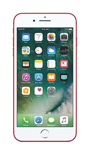 5f617d515 Apple iPhone 7 with FaceTime - 128GB, 4G LTE, Product Red: Amazon.ae ...