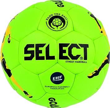 TALLA 47 cm. SELECT Goalcha Street Handball Balón de Balonmano, Unisex Adulto