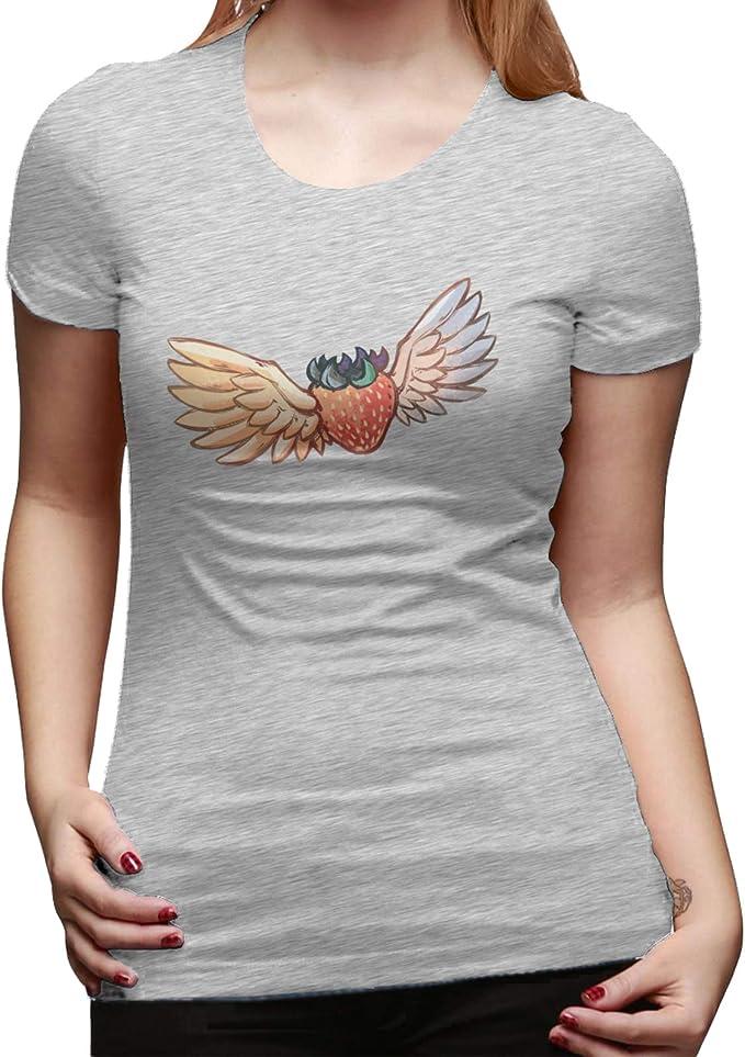 Classic Cotton Strawberry - Camiseta básica de manga corta ...