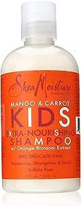 SheaMoisture Mango & Carrot Kids Extra-Nourishing Shampoo, 8 Ounce