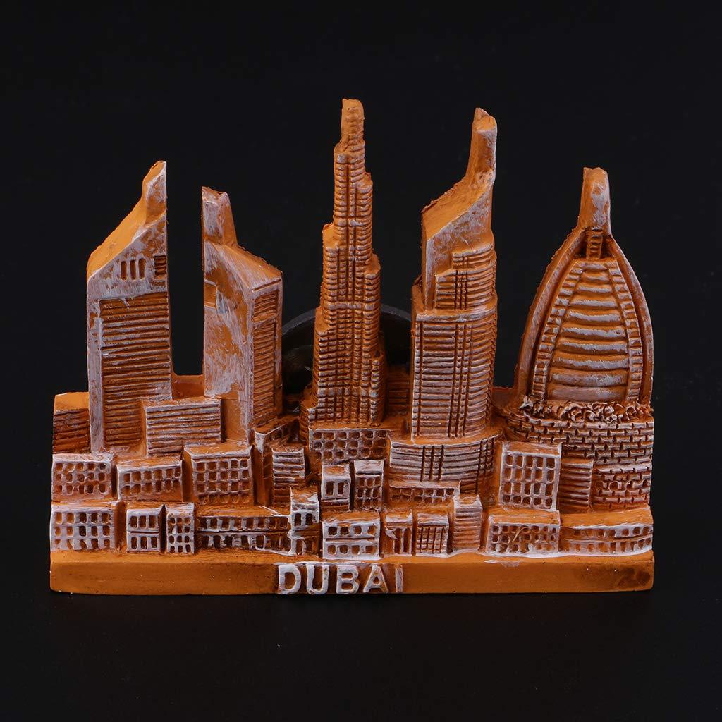 Baoblaze Resina 3D Atracciones Mundiales Imanes de Nevera ...