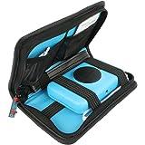 Khanka Travel Carrying Storage Case Bag for Polaroid Snap Instant Digital Camera ZINK Zero Ink Printing - Black
