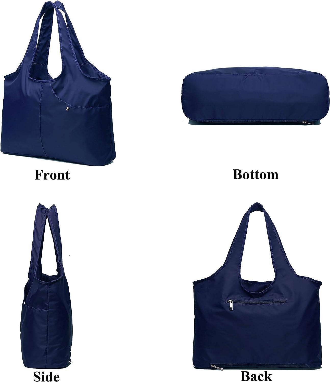Eden Gold IKURI Shopping Bag Waterproof Shoulder Tote Bag For Woman Lightweight Handbag Wateresistent Multifunctional Comfy Bag