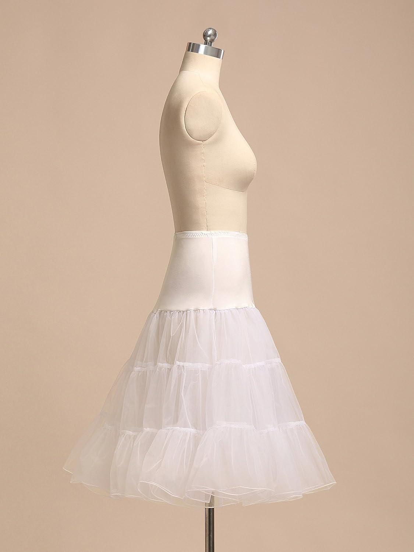 AW Bridal Retro Underskirt 50s Vintage Petticoat Swing Net Skirt Rockabilly 25 Long Tutu