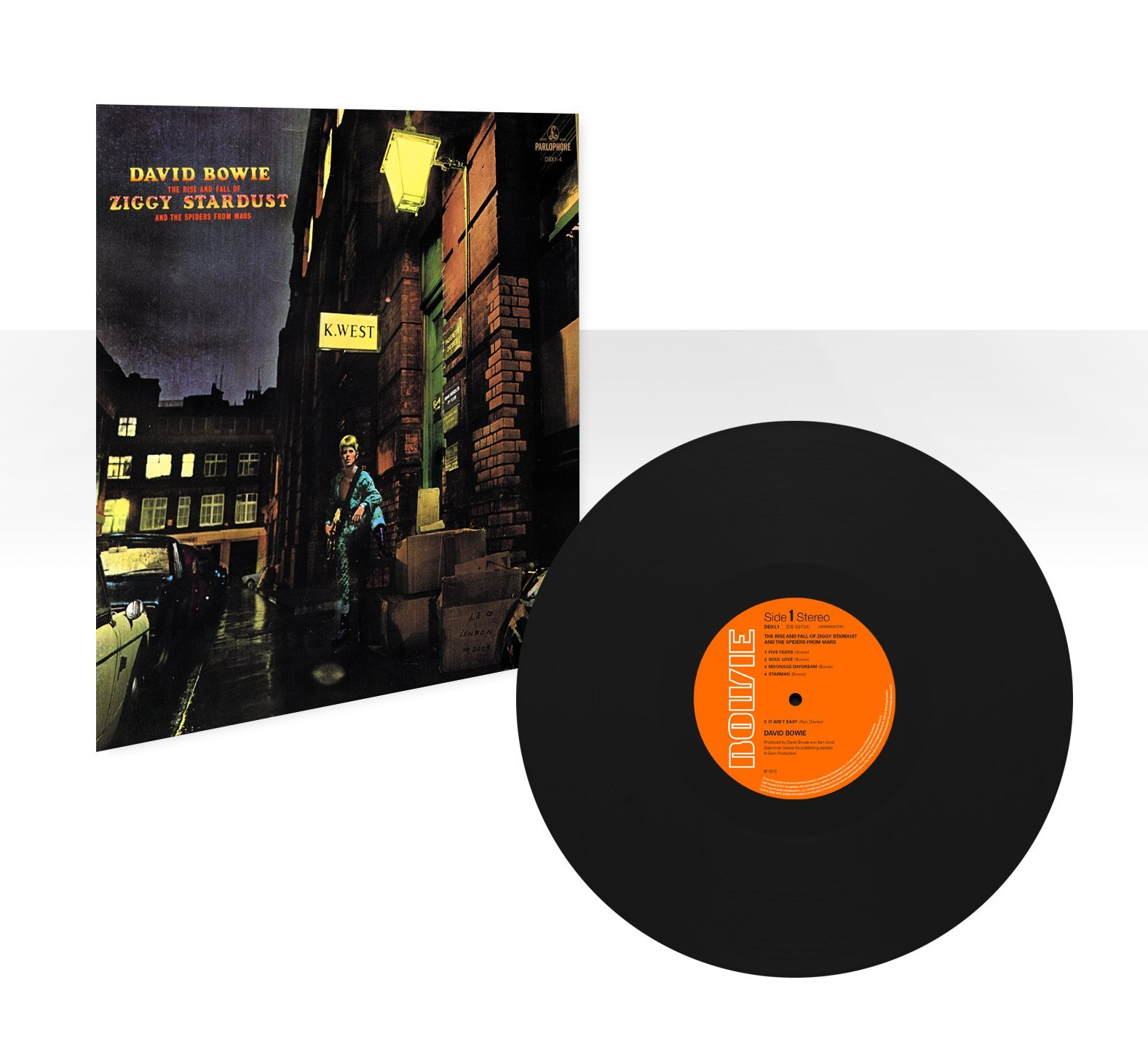 The Rise and Fall Of Ziggy Stardust And The Spiders From Mars (180 Gram Vinyl) by WEA