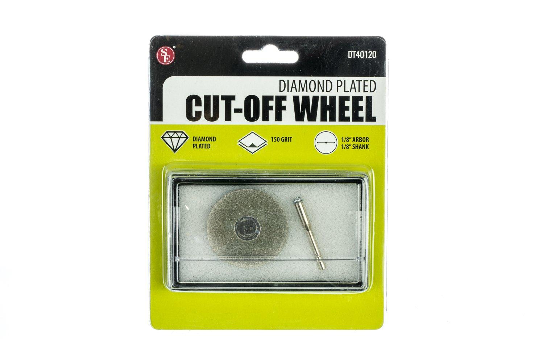 SE DT40120 Professional Diamond Plated Cut-Off Wheel, 150 Grit