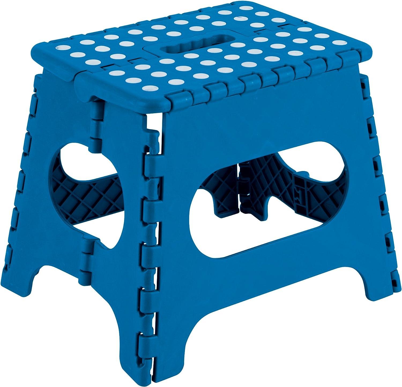 Arregui TB-027-A Taburete Plegable de 29 cm de altura, azul, 290x220x270