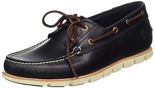 Les chaussures bateau timberland tideland 2 eye marron