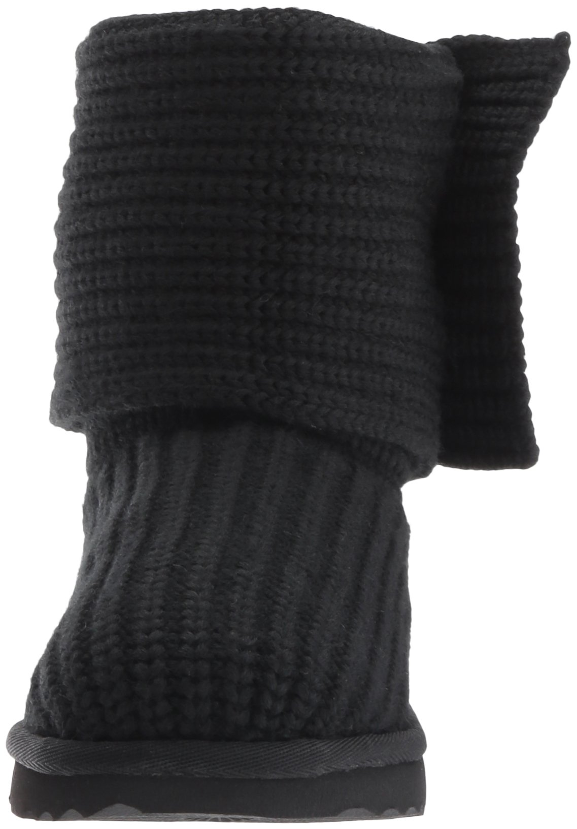 UGG Girls K Cardy II Pull-On Boot, Black, 8 M US Toddler by UGG (Image #4)