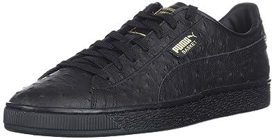 PUMA Basket Classic LFS (BlackMetallic Gold) Women's Shoes