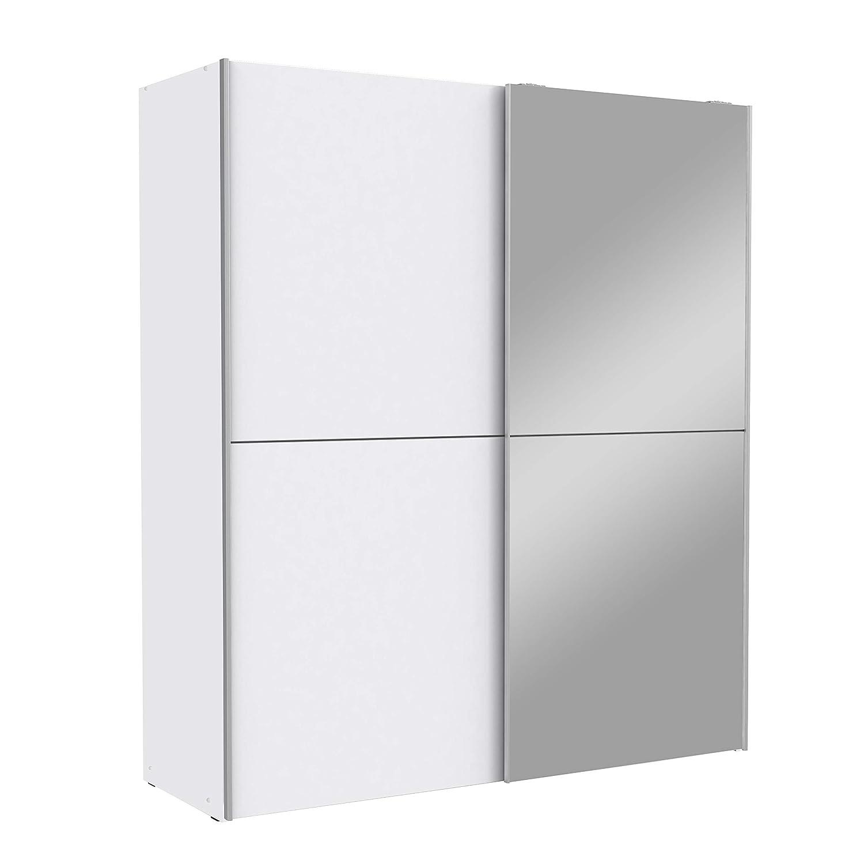 Wohnorama Schwebeturenschrank 170 Cm White Kiss Von Forte Weiss By