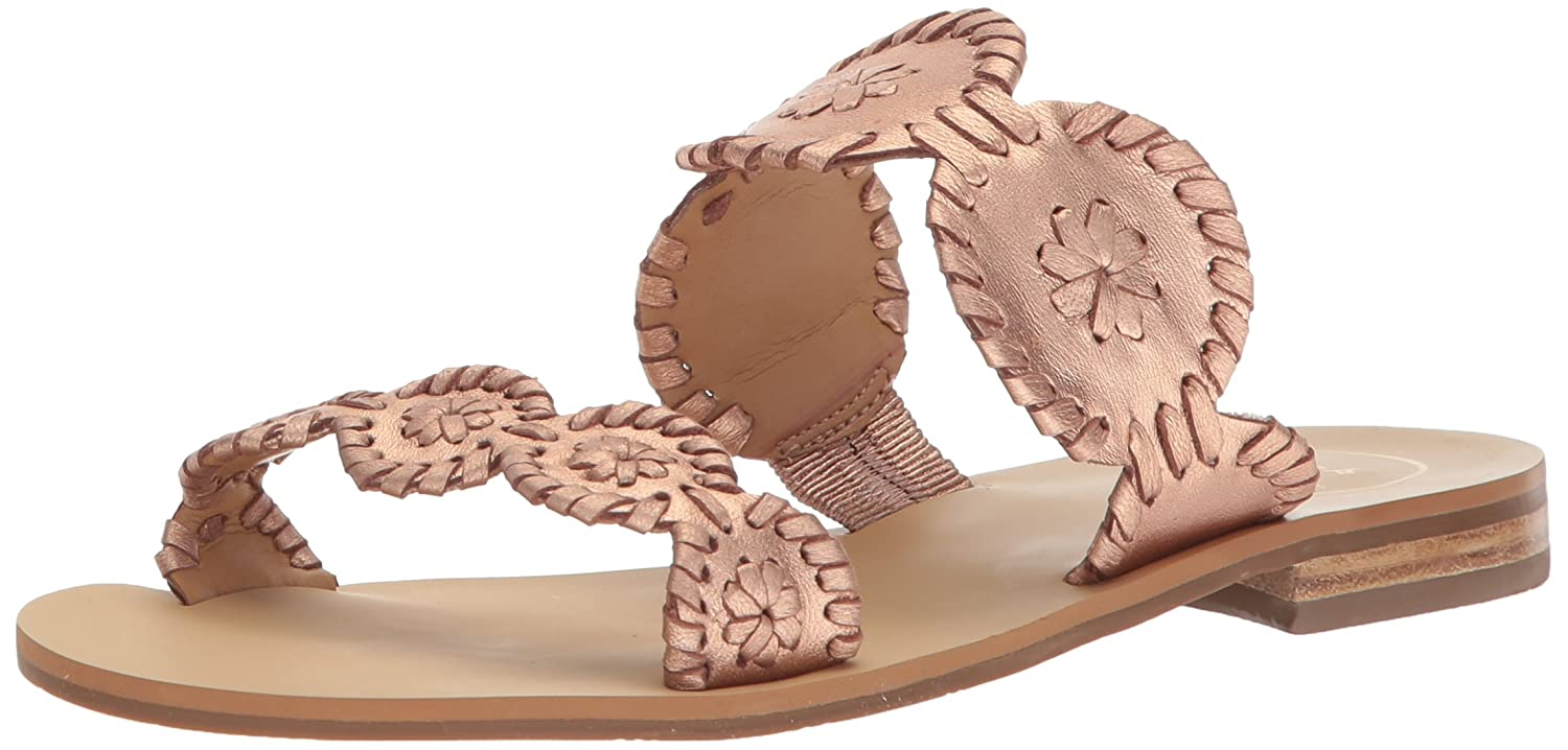 Jack Rogers Women's Lauren Dress Sandal B075QSHCB5 11 B(M) US|Rose Gold