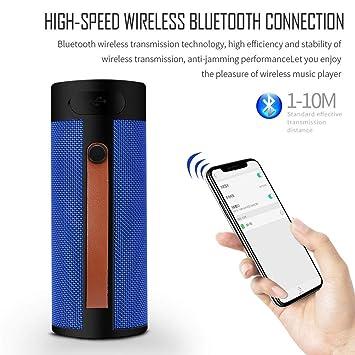 BSADX Altavoz Portátil Inalambrica Bluetooth,para Smartphones ...