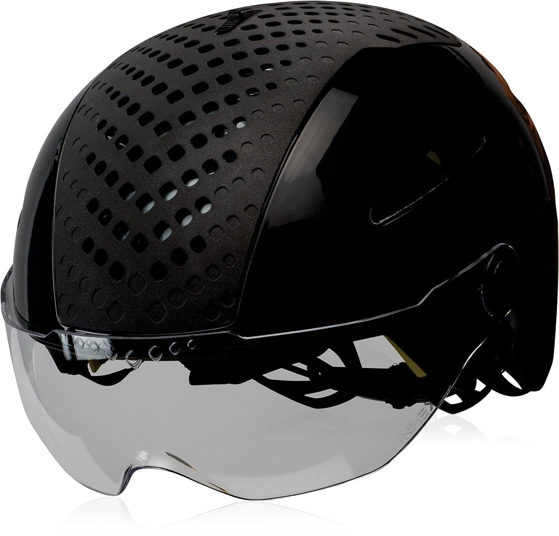 BELL(ベル) ヘルメット 自転車 サイクリング 通勤 通学 ANNEX SHIELD [アネックスシールド グロスブラック M 7071169]