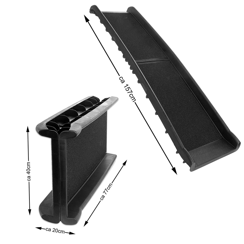 156 x 40 cm Goods /& Gadgets Rampa Pieghevole per Cani