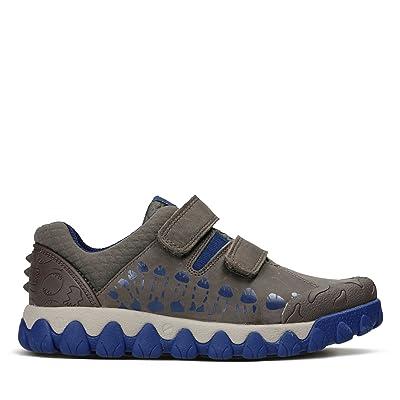 Clarks Tyrex Walk Inf, Sneakers Basses Garçon - Marron - Marron, 31 F EU Enfant