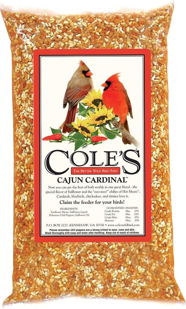 Cole's CB05 Cajun Cardinal Blend Bird Seed, 5-Pound