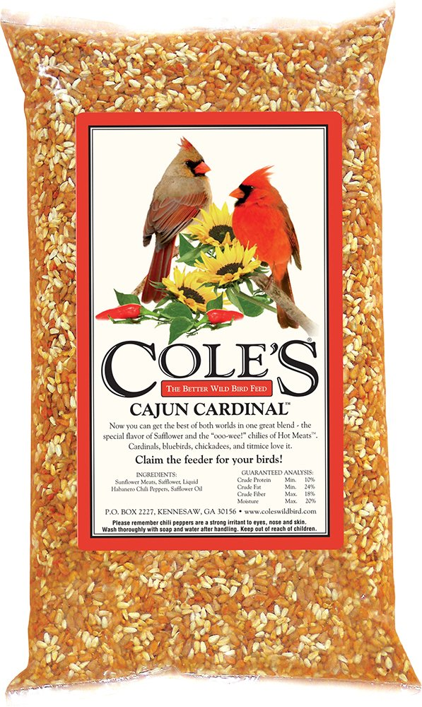 Cole's CB05 Cajun Cardinal Blend Bird Seed, 5-Pound by Cole's Wild Bird Products