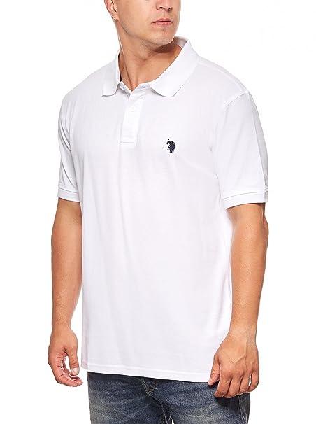 U.S. Polo Assn. Camiseta Hombre Polo Polo Camisa Camisa de algodón ...