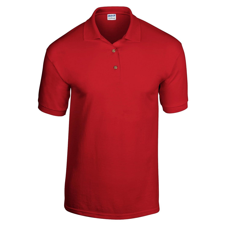 Gildan Unisex Childrens DryBlend Pique Polo Shirt