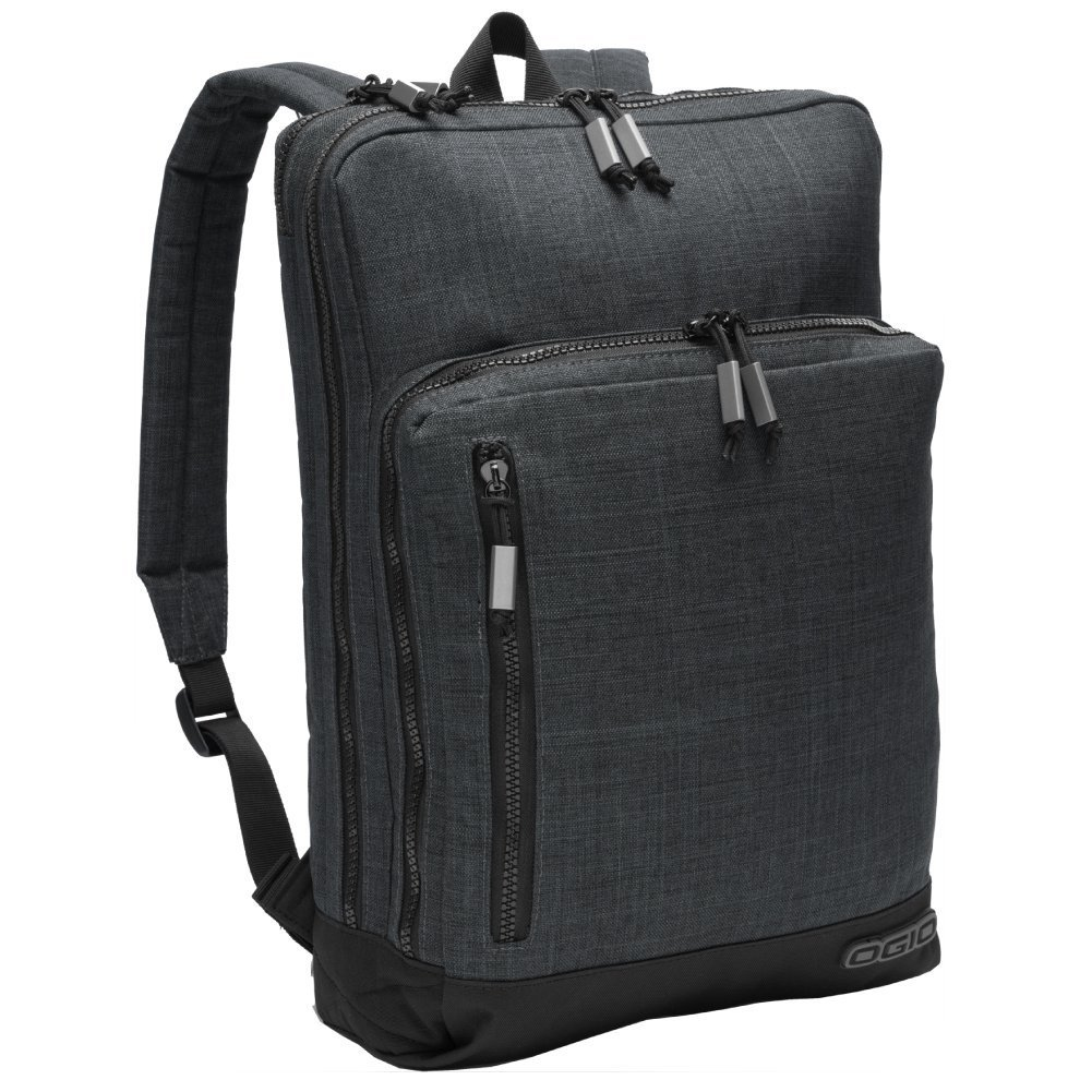 OGIO 411086 Sly 15'' Computer Laptop Backpack, Heather Grey