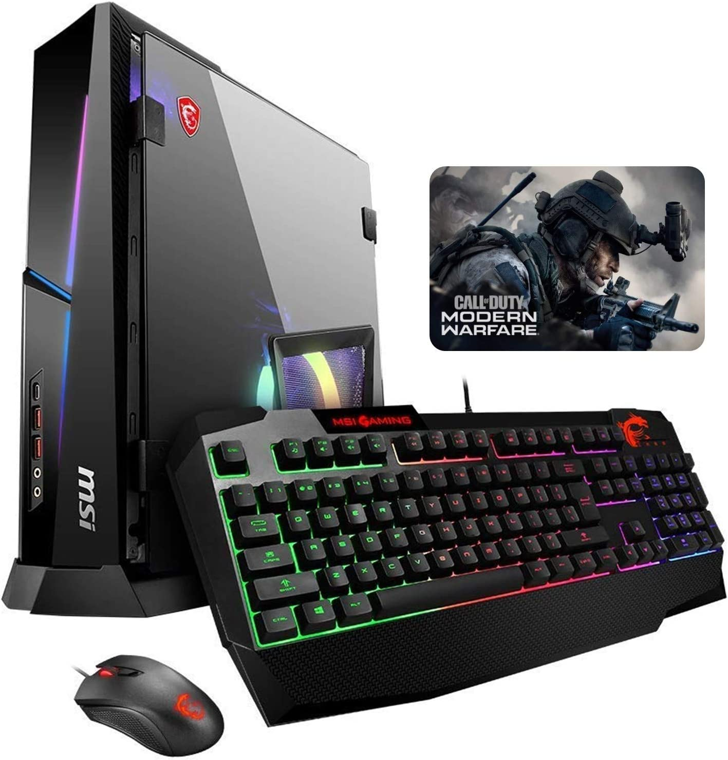 MSI Trident X Plus 9SF-040US i7-9700K, 16GB RAM, 512GB NVMe SSD 2TB HDD, NVIDIA RTX 2080Ti 11GB, Windows 10 Gaming Desktop