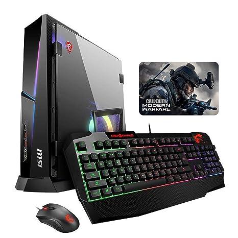 MSI Trident X Plus 9SE-062US (i9-9900K, 16GB RAM, 512GB NVMe SSD + 2TB HDD, NVIDIA RTX 2080 8GB, Windows 10) Gaming Desktop