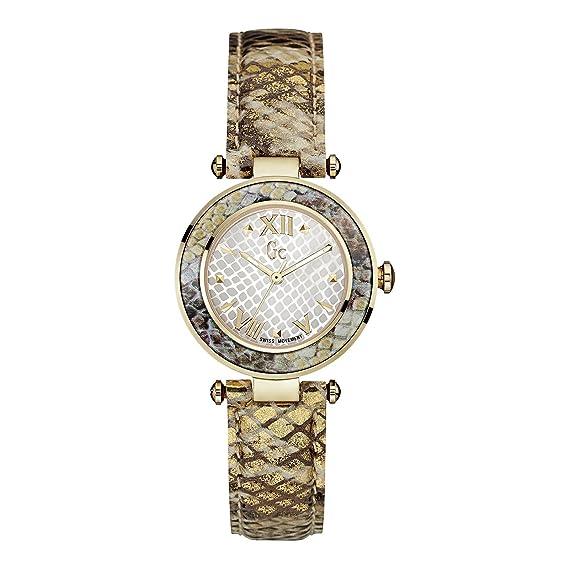 GUESS COLLECTION GC LADYCHIC RELOJ DE MUJER CUARZO 32MM Y10003L1: Amazon.es: Relojes
