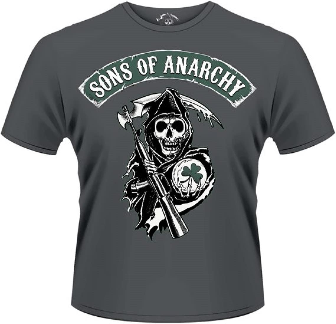 Plastic Head heren T-shirt, Sons Of Anarchy Reaper Shamrock