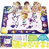 "Smarkids Water Drawing Mat Aqua Magic Doodle Mat Kids Toys Mess Free Large 28"" x 40"" Water Painting Writing Doodle Board…"