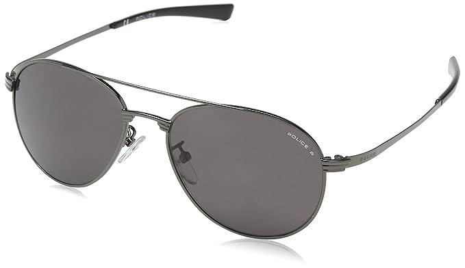 Police SK540-gafas de sol Niños Gris Gris (SHINY GUNMETAL ...