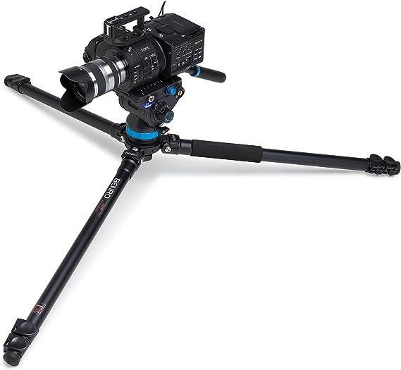 Benro A373fbs8 Aluminium Video Tripod With Head Camera Photo